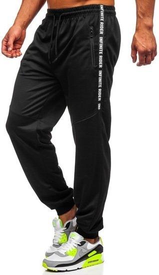 Spodnie sportowe Denley z dresówki w sportowym stylu