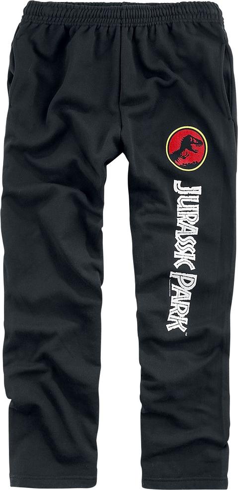 Spodnie sportowe Jurassic Park z dresówki w sportowym stylu