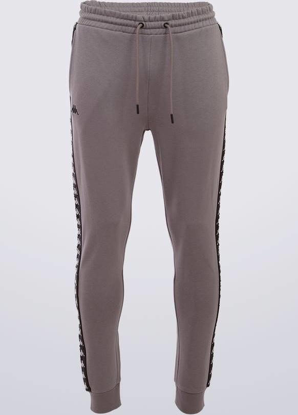 Spodnie sportowe Kappa w sportowym stylu z bawełny