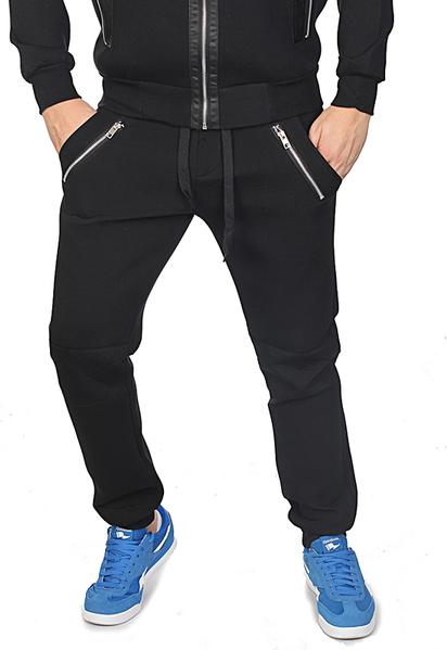Darmowa dostawa Spodnie sportowe Reebok z bawełny Odzież