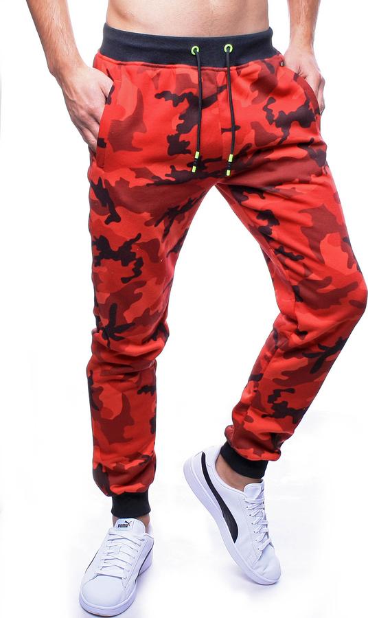 Spodnie sportowe Recea z bawełny