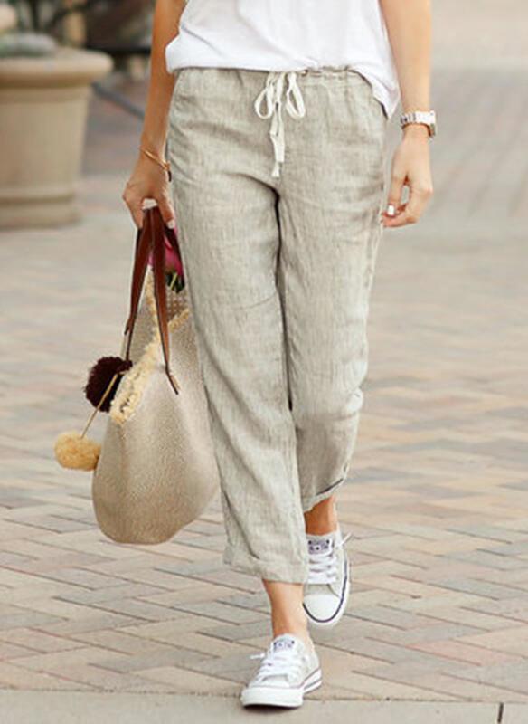 Spodnie sportowe Sandbella z dresówki