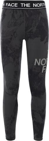 Spodnie The North Face z żakardu