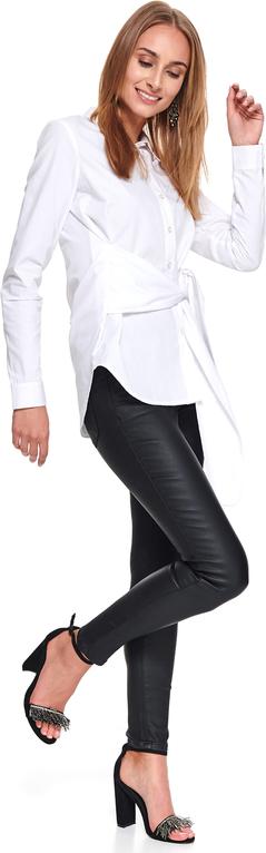 Spodnie Top Secret w rockowym stylu z tkaniny