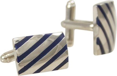 Srebrna spinka do krawata Chattier