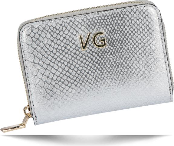 Srebrny portfel VITTORIA GOTTI