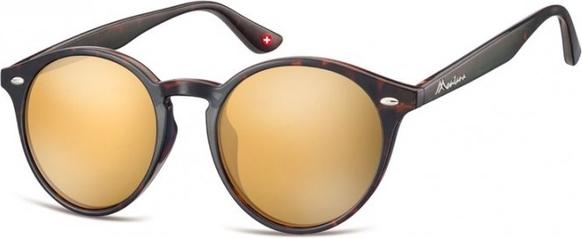 Stylion Okulary okragle panterka lenonki lustrzane MS20B