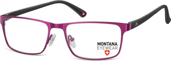Stylion Oprawki prostokątne optyczne Montana MM610E fioletowe