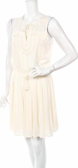 Sukienka Abercrombie & Fitch bez rękawów rozkloszowana mini