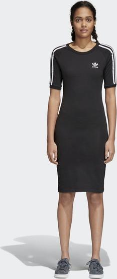 cb95d0b0b2 Czarna sukienka Adidas Originals