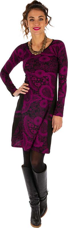 Sukienka Aller Simplement z bawełny