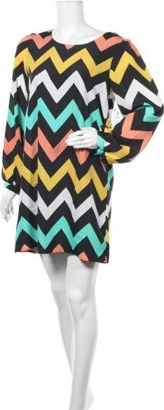 Sukienka Almost Famous z długim rękawem w stylu casual