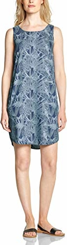 Sukienka amazon.de bez rękawów w stylu casual prosta