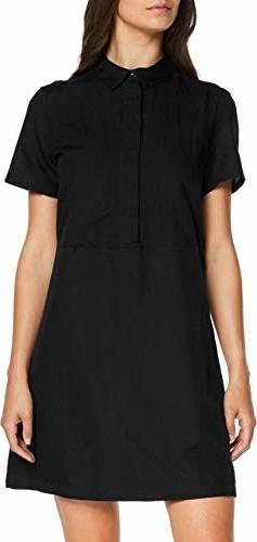 Sukienka amazon.de koszulowa mini z krótkim rękawem