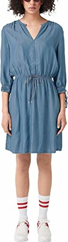 Sukienka amazon.de koszulowa w stylu casual z długim rękawem