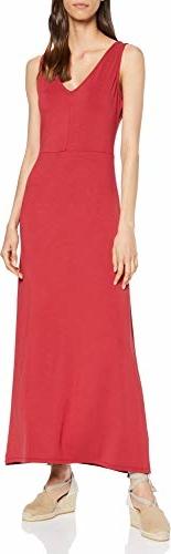 Sukienka amazon.de maxi z dekoltem w kształcie litery v