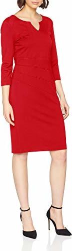 Sukienka amazon.de midi z długim rękawem z dekoltem w kształcie litery v