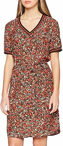 Sukienka amazon.de mini z dekoltem w kształcie litery v