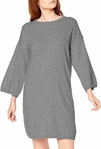Sukienka amazon.de mini z długim rękawem z okrągłym dekoltem