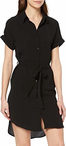 Sukienka amazon.de mini z krótkim rękawem