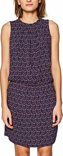 Sukienka amazon.de mini z okrągłym dekoltem koszulowa
