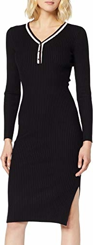 Sukienka amazon.de ołówkowa z długim rękawem