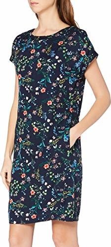 Sukienka amazon.de prosta midi z krótkim rękawem