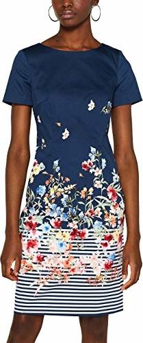 Sukienka amazon.de trapezowa mini z krótkim rękawem