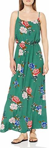 Sukienka amazon.de w stylu casual maxi z okrągłym dekoltem