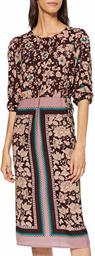 Sukienka amazon.de w stylu casual midi prosta