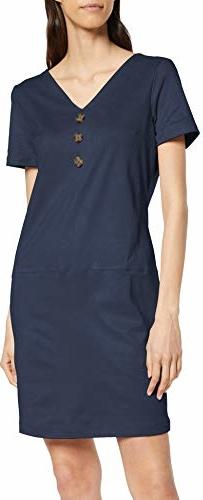 Sukienka amazon.de w stylu casual z dekoltem w kształcie litery v mini