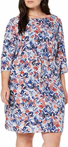 Sukienka amazon.de w stylu casual z długim rękawem dla puszystych