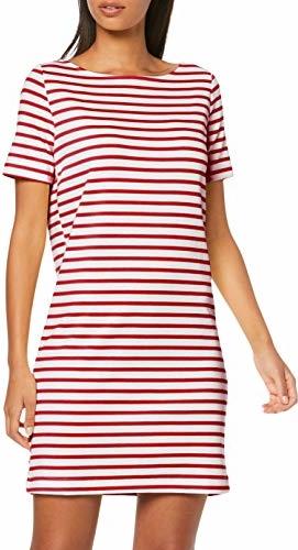 Sukienka amazon.de w stylu casual z krótkim rękawem z okrągłym dekoltem