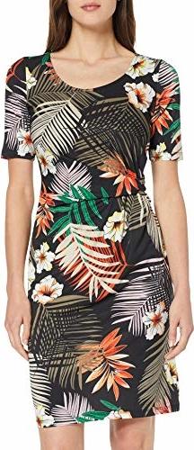 Sukienka amazon.de w stylu casual z okrągłym dekoltem