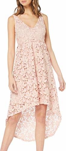 Sukienka amazon.de z dekoltem w kształcie litery v