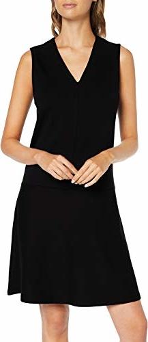 Sukienka amazon.de z dekoltem w kształcie litery v w stylu casual