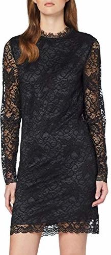 Sukienka amazon.de z długim rękawem mini dopasowana