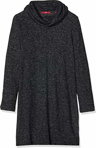 Sukienka amazon.de z długim rękawem prosta w stylu casual