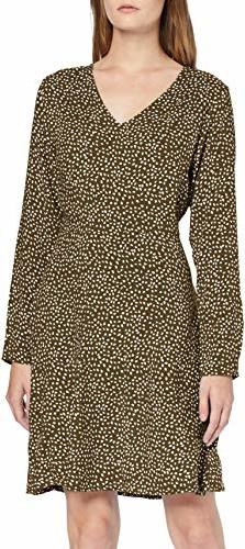 Sukienka amazon.de z długim rękawem w stylu casual mini