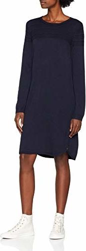 Sukienka amazon.de z długim rękawem w stylu casual prosta