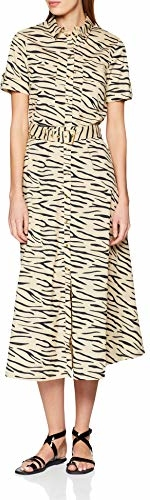 Sukienka amazon.de z krótkim rękawem w stylu casual koszulowa