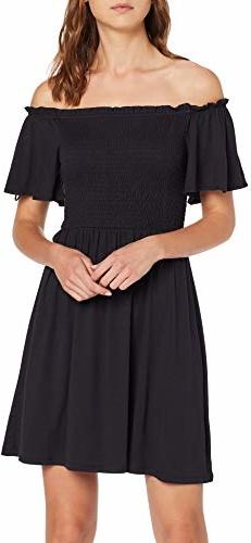 Sukienka amazon.de z odkrytymi ramionami mini hiszpanka