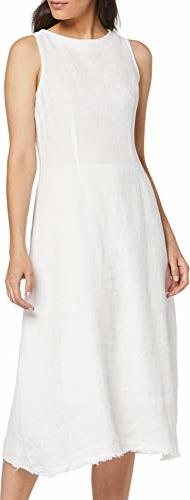 Sukienka amazon.de z okrągłym dekoltem bez rękawów prosta