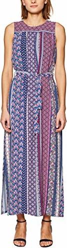Sukienka amazon.de z okrągłym dekoltem maxi