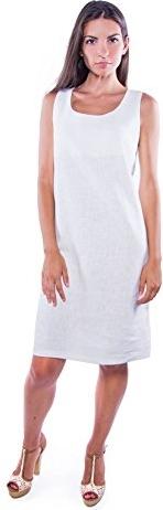 Sukienka amazon.de z okrągłym dekoltem prosta
