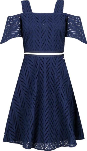 Sukienka Armani Jeans midi z krótkim rękawem
