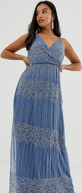 Sukienka Asos z dekoltem w kształcie litery v
