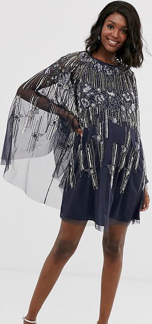 Sukienka Asos z okrągłym dekoltem