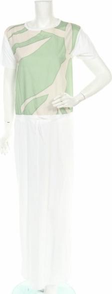 Sukienka AT.P.CO z okrągłym dekoltem bez rękawów maxi