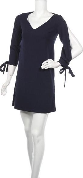 Sukienka Awama prosta z długim rękawem